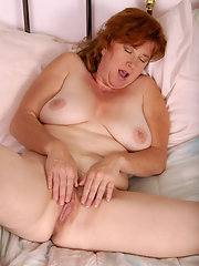 You mature redhead pussy hairy