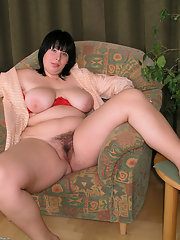 Shows pussy mom hairy