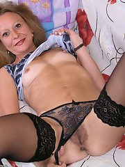 Mature cunts in stockings
