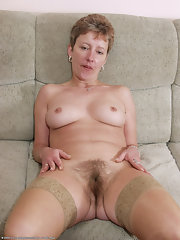 hairy pic Clit mature