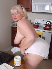 And bbw panties bras granny mature