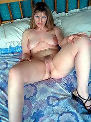 Bikini Brute Hairy Mature Outdoor Blonde Lips